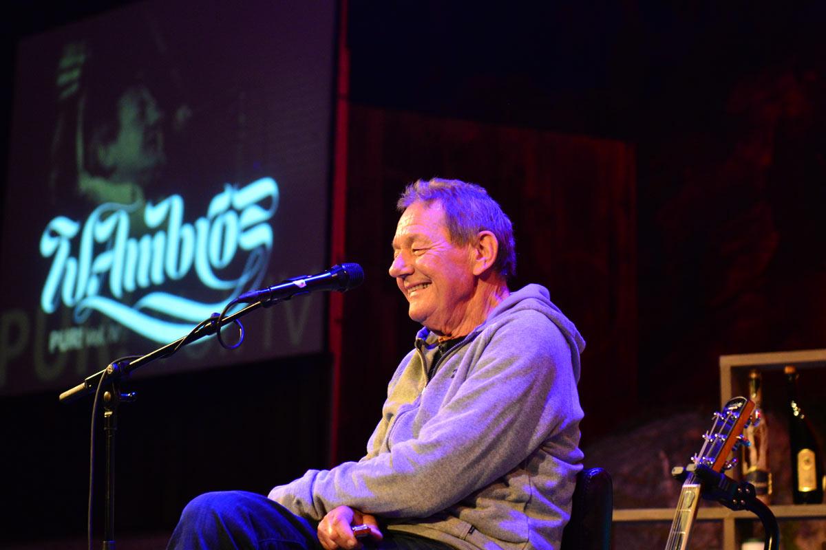 Wolfgang Ambros auf der Geierwally-Freilichtbühne 2016